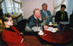 Kerli Peterson, Alo Ritsing, Lennart Jõela ja Vaike Uibopuu